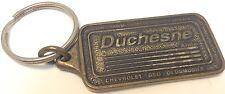 Vintage Car Dealer Promo Keychain DUCHESNE AUTO LTEE Porte-Cle CHEV GEO OLDS