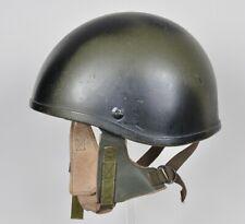 More details for para helmet, sas. mk.1 grp m76 vinyl chinstrap. helmet parachutists light weight