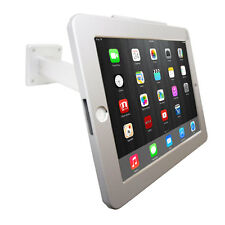 USED iPad Wall Mount Desktop POS Anti-theft Stand Enclosure w/Security Lock