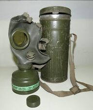 German type pre-WW2 Estonian Gas Mask with container! RARE!!