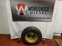 Starfire M & S Tire. LT215/85R16. Tread: 6/32. Good Used Part