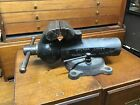 """Vintage Wilton Cadet Bench Vise 4.5"""" Jaws Pre-1957 RARE ! Made In Chicago USA !"""