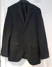Hugo Boss Guabello Super 160 Mens Black suit blazer Jacket - New NWOT