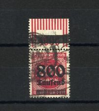 DR Infla Mi. 303 W OR gestempelt, OPD Erfurt, sign.           KR898046