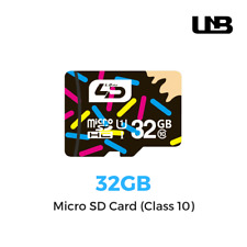 32GB Micro SD Card (Class 10) - For Cameras & Smartphones