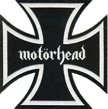 Motorhead Iron Cross Patch Lemmy Rock 'n' Roll Sex Pistols Tank Headcat Saxon