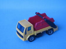 Matchbox Ford Cargo Skip Truck Yellow and Red Construction 70mm UB