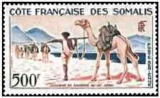 Timbre Animaux Cote des Somalis PA29 ** (30314) - cote : 33 €