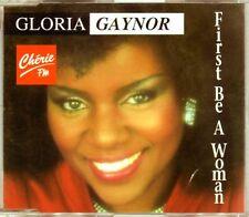 Gloria Gaynor - First Be A Woman - CDM - 1993 - Eurodance Italodance 2TR Gabutti
