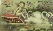 Buchan's Carbolic Toilet Soap, New York, Victorian Trade Card P103