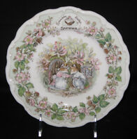 "Royal Doulton, Brambly Hedge - ""SUMMER"" 8"" salad plate"