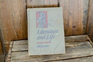 Literature and Life, Book One, Dudley Miles and Christine Keck, 1947