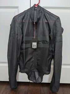 Rapha Brevet Flyweight Wind Jacket - MEDIUM - Black