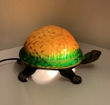 Amber And Green Turtle Lamp Night Light