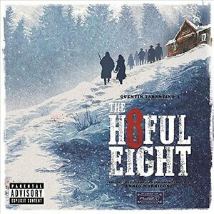 Ennio Morricone Il Hateful Eight Ost 2015 CD Nuovo Quentin Tarantino H8ful