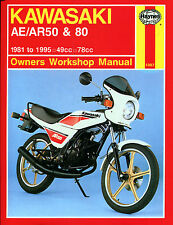 Haynes Manual 1007 - Kawasaki AE50, AE80, AR50 & AR80 (81 - 95) workshop/service