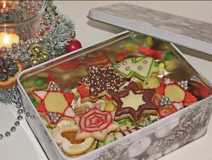 Selbstgebackene Selbstgemachte Weihnachtsplätzchen Kekse Plätzchen 500g