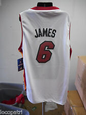 Adidas NBA Miami Heat LeBron James Youth Swingman Jersey NWT L
