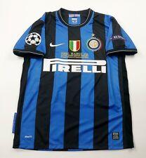 Inter Milan 2010 Ucl Final Retro Shirt, Milito, Sneijder, Zanetti, Size S M L Xl