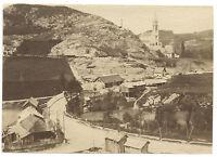 Lourdes Francia Vintage Albumina Ca 1875 Formato 6x8, 7cm