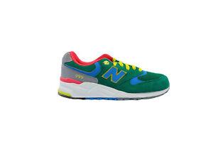 [ML999PN] New Balance 999 Mens Running Sneakers Pin Ball Green Bolt