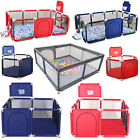 Kids Baby Safety Playpen Play Yard Activity Center Portable Indoor Outdoor fence