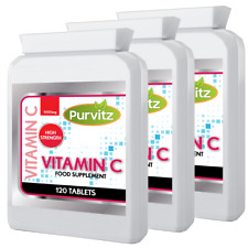 Vitamin C 1000mg Time Release Helps Immune Health High Strength 360 Tablets