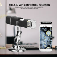 Digital Electron Microscope Wireless WiFi 1000X 2MP HD USB for iPhone/Android