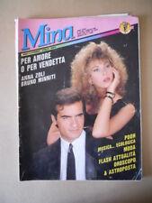 MINA 324 1989 Rivista di Fotoromanzo edizioni LANCIO [G790]