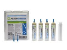 Advion Roach Cockroach Killer Bait Gel 4 Tubes with Tips & Plunger Free Shipping