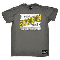 Peace Love Boarding MENS Powder Monkeez T-SHIRT birthday gift skier snowboarding