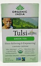 Organic India Tulsi Green Tea, 18-Count Teabags