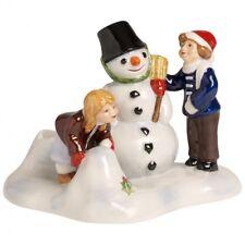 Villeroy & Boch NORTH POLE EXPRESS Children Building Snowman # 6533