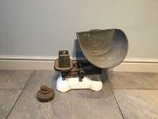 Equilibrio mecánico Vintage Escala-H Pooley & Sons Birmingham Verde tenderos