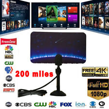 200 Mile Range Antenna TV Digital HD Skylink 4K Antena Digital Indoor HDTV 1080p
