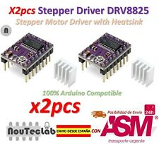 2pcs Stepstick DRV8825 Stepper Motor Driver Reprap RAMPS replace A4988