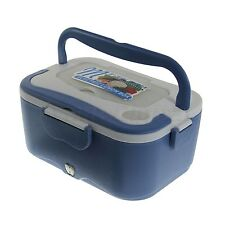 12V 45W Portable Electric Heating Lunch Box Case Mini Rice Cooker for Car Use