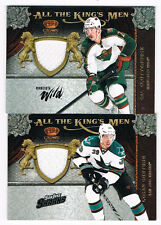 11-12 CAL CLUTTERBUCK CROWN ROYALE ALL THE KING'S MEN JERSEY #7 WILD