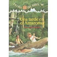 Casa del Arbol: Una Tarde en el Amazonas 6 by Mary Pope Osborne (2004,...