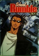 SCHOOL RUMBLE VOLUME 6 The Final Four Episodes + Special Features SEALED DVD