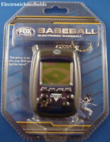 BASEBALL KEYCHAIN GAME ELECTRONIC HANDHELD EXCALIBUR FOX SPORTS LCD TOY 2009 NEW