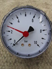 HYDRAULIC PRESSURE GAUGE  - 0 TO 10 BAR