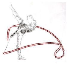 Rhinestone Iron Transfer Hot fix Motif crystal Fashion design Gymnastics Fairy