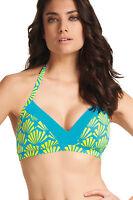 Brand New Freya Fame Triangle Halter Bikini Top 3507 Lime Fizz VARIOUS SIZES