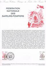 Document Officiel   1982 32   Federation Des Sapeurs Pompiers  Yv N° 2233