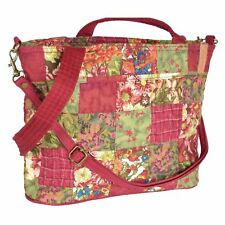 "Donna Sharp ""Watercolor Patch"" JENNA Handbag 13"" x 9"" x 4"" NWT"