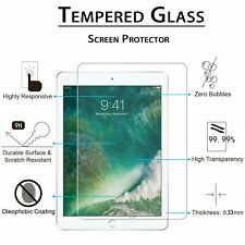 """New Tempered Glass Screen Protector Film For Apple iPad 2017 2018 Pad 9.7"""" A1822"""