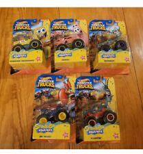 Hot Wheels Monster Truck 2020 SpongeBob SquarePants Complete Full Set of 5