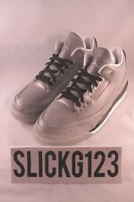 Nike Air Jordan 3 5Lab3 Silver Reflective 3M Size 10.5 DS Brand New