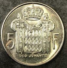 MONACO 5 Francs 1966 RAINIER III
